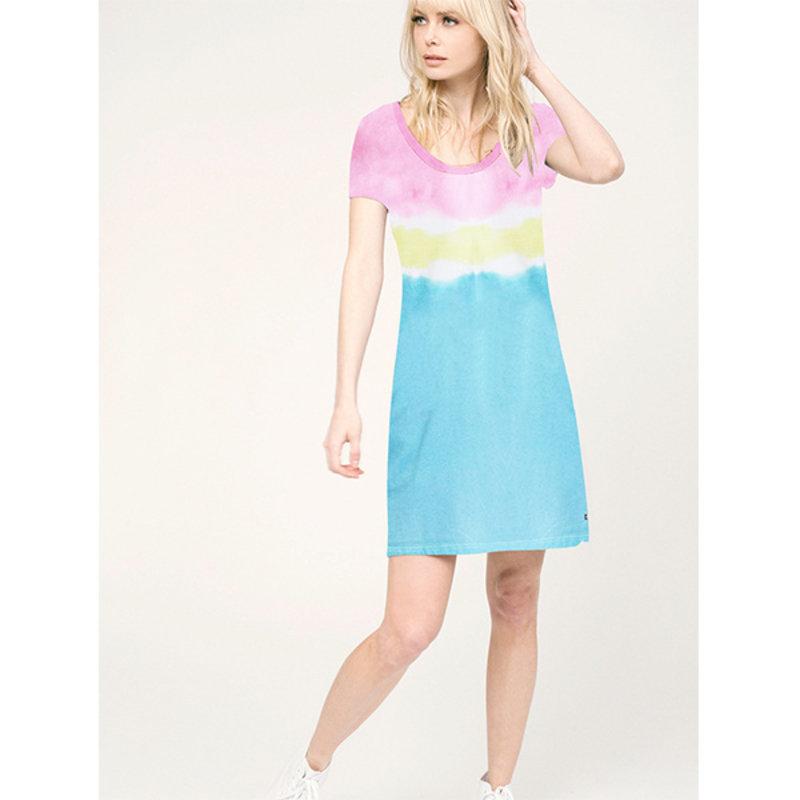Sol Angeles Sol Angeles W Dip Dye  Scoop Dress