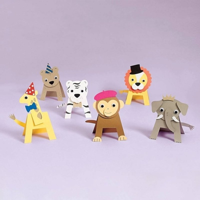 Paper Source Paper Source Party Animals DIY Craft Kit