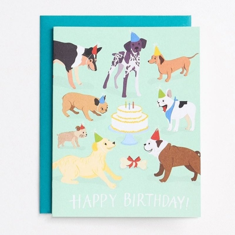 Paper Source Paper Source Dog Birthday Card