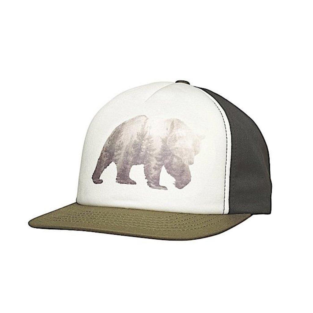 Ambler Ambler Grizzly Trucker Hat - Olive
