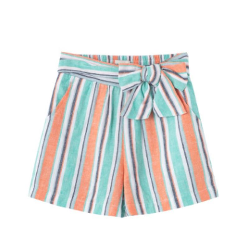 Habitual Girl Stripe Linen Short