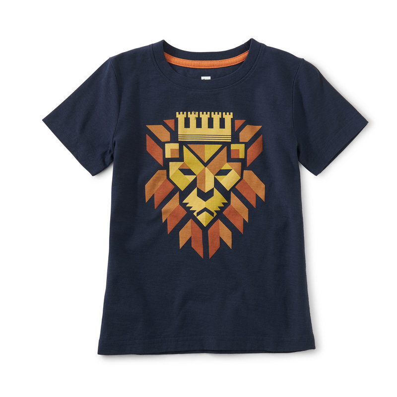 Tea Collection Tea Regal Roar Graphic Tee