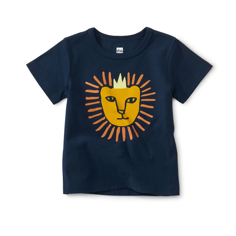 Tea Collection Tea Baby King of the Jungle Tee