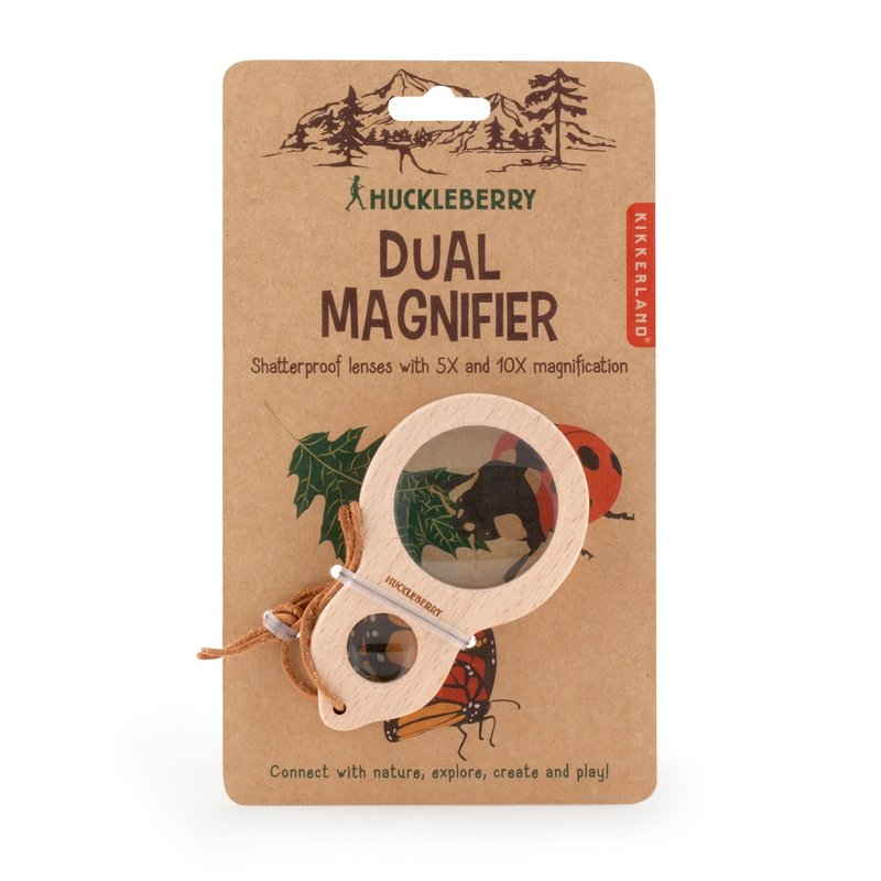 Huckleberry by Kikkerland Huckleberry Dual Magnifier