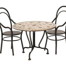 Maileg Maileg Dining Table Set with 2 Chairs