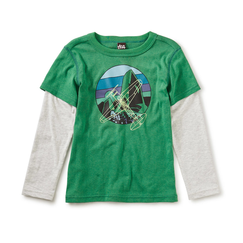Tea Collection Tea Collection Boys Cleared for Takeoff Layered Tee