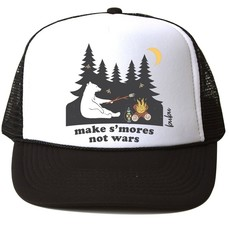 Bubu S'mores Not Wars Trucker Hat - Size: M (18M-4Yrs)