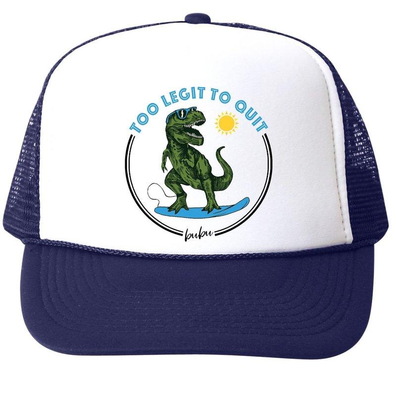 Bubu Too Legit To Quit Trucker Hat