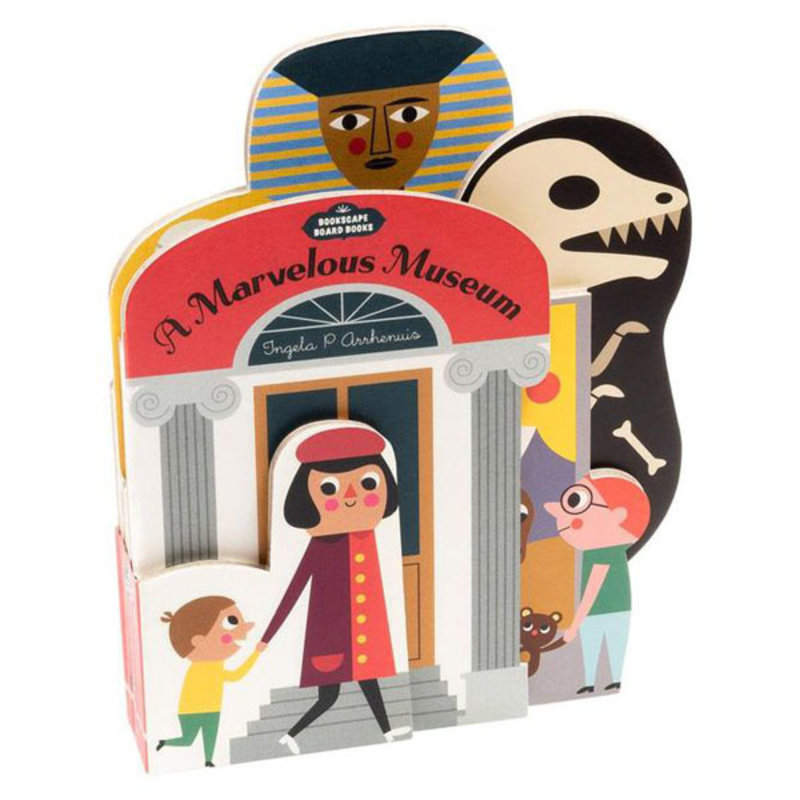 Chronicle Books Bookscape Board Books: Marvelous Museum