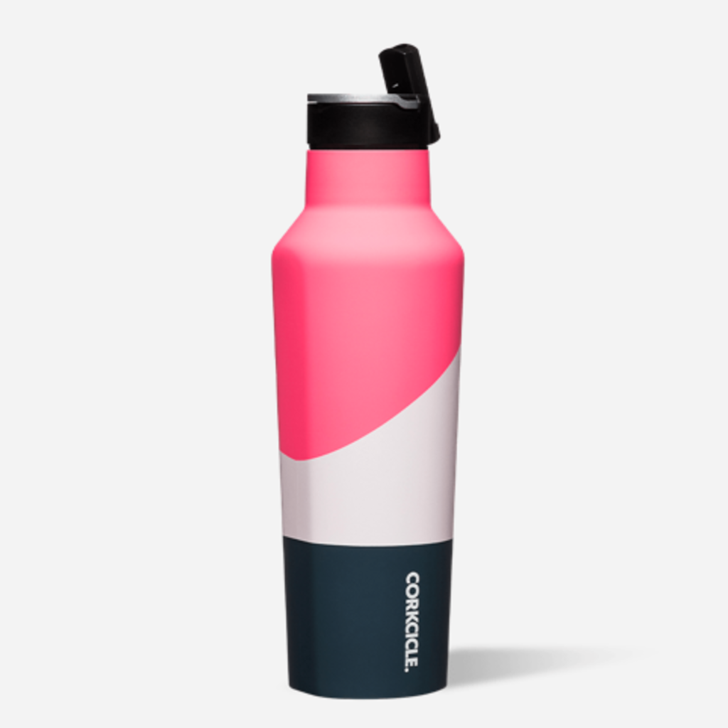 Corkcicle Corkcicle 20oz Sport Canteen: ELECTRIC PINK