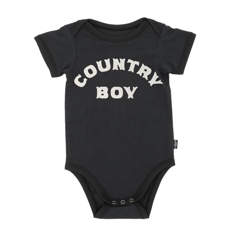 Feather 4 Arrow Feather 4 Arrow Country Boy Onesie