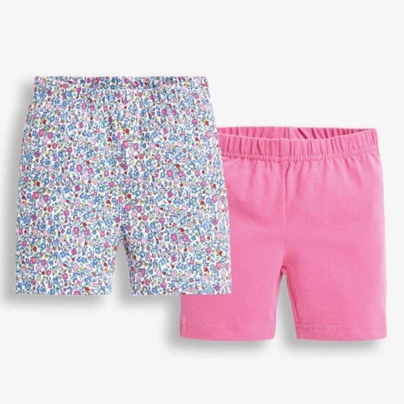JoJo Maman Bebe JoJo Maman Toddler 2PK Floral Shorts