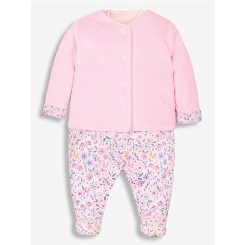 JoJo Maman Bebe JoJo Maman 2PC Sleepsuit Set
