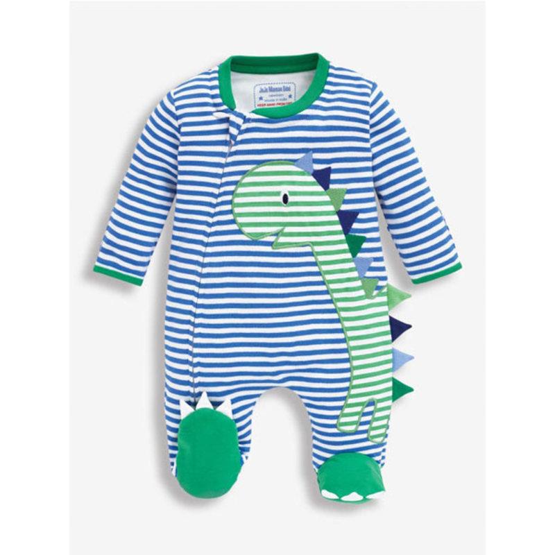 JoJo Maman Bebe JoJo Maman Dino Zip Sleepsuit