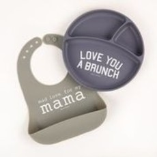 Bella Tunno Bella Tunno Wonder Bibs - Mad Love for My Mama