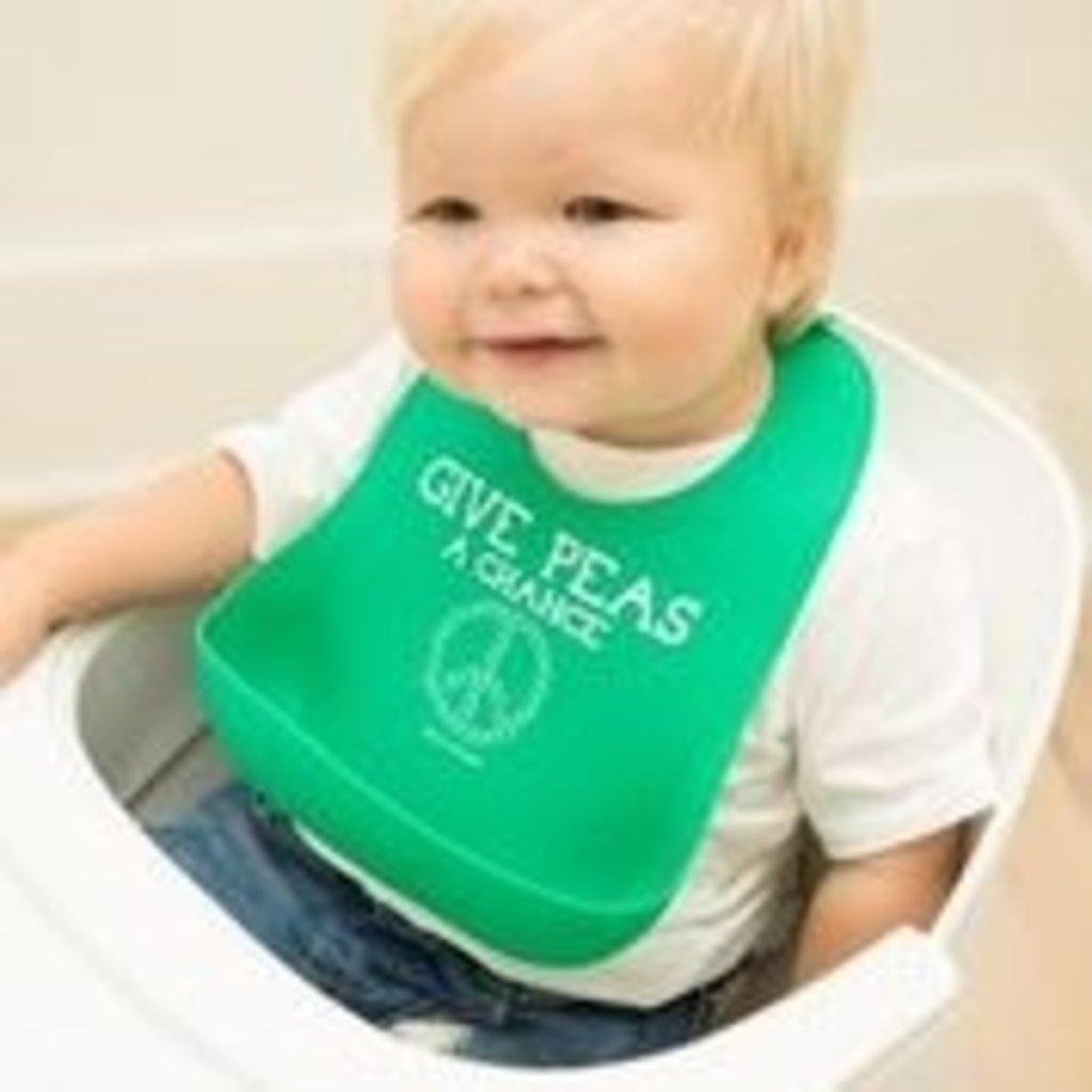 Bella Tunno Bella Tunno Wonder Bibs - Give Peas a Chance