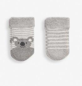 JoJo Maman Bebe JoJo Maman 2PK Baby Koala Socks