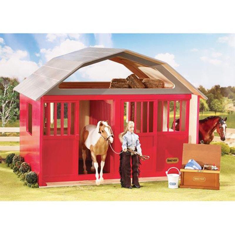 Breyer Two Stall Barn