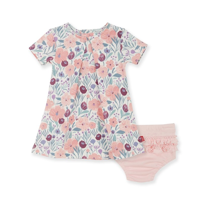 Magnetic Me Magnetic Me Dress & Diaper Cover Set