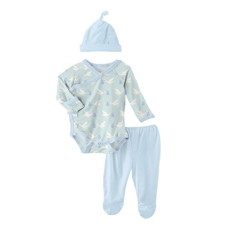 KicKee Pants KicKee Pants Kimono Gift Set