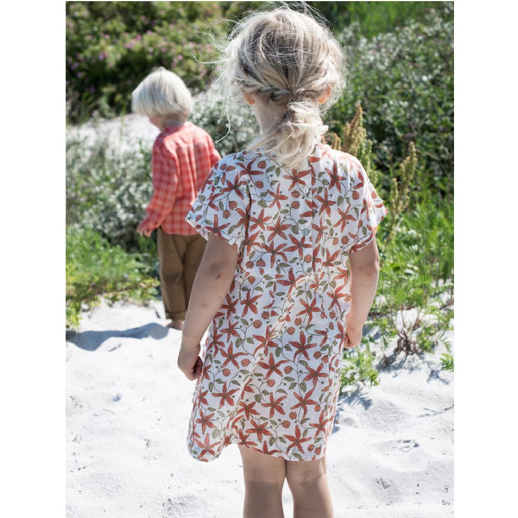 Serendipity Organics Serendipity Organics Girls V-Dress
