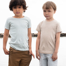 Serendipity Organics Serendipity Organics Kids Striped Short Sleeved Tee
