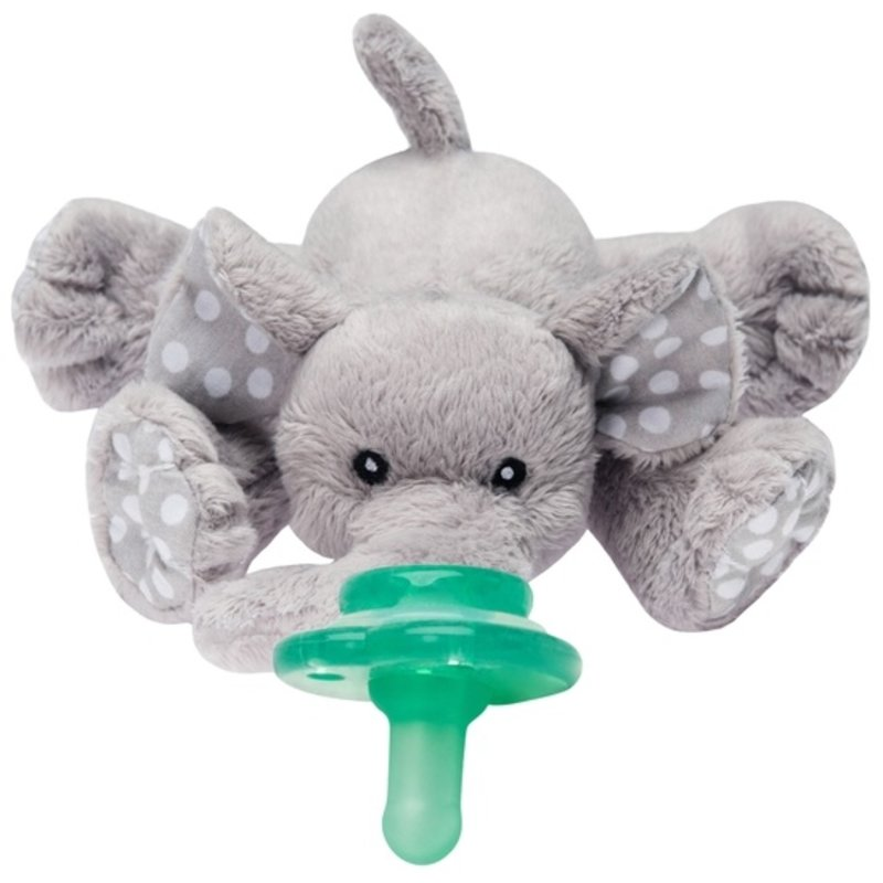 Nookums Nookums Paci-Plushies Buddies – Elephant