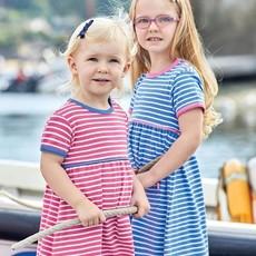 JoJo Maman Bebe JoJo Maman Bebe Girls Striped Summer Dress