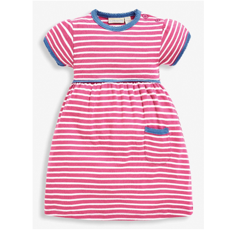 JoJo Maman Bebe JoJo Maman Stripe Summer Dress