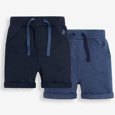 JoJo Maman Bebe JoJo Maman Bebe Boys 2-Pack Jogger Shorts