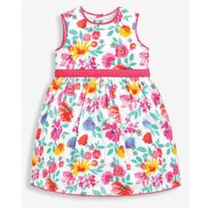 JoJo Maman Bebe JoJo Maman Bebe Girls Pink Floral Party Dress