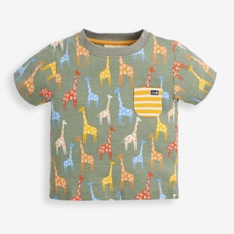 JoJo Maman Bebe JoJo Maman Giraffe T-Shirt