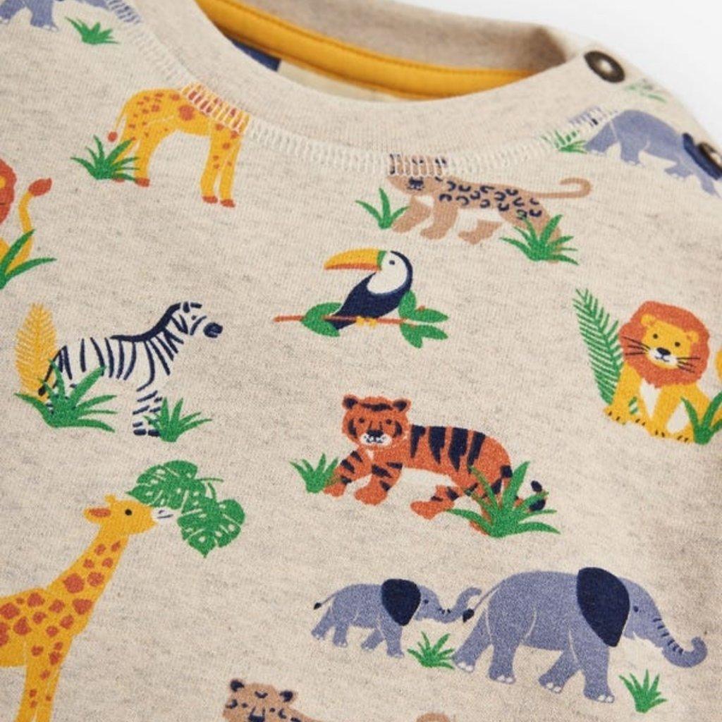 JoJo Maman Bebe JoJo Maman Bebe Boys Safari Sweatshirt
