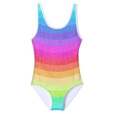 Stella Cove Rainbow Tank Swimsuit