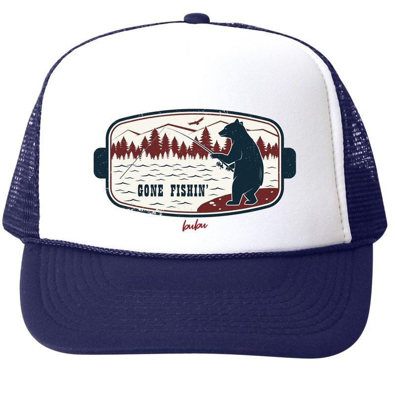 Bubu Gone Fishin Hat