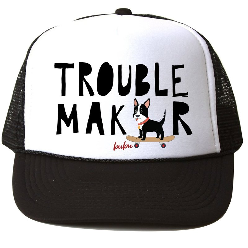 Bubu Trouble Maker Trucker Hat