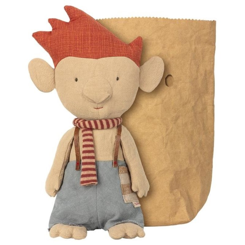 Maileg Maileg Troll with Red Scarf
