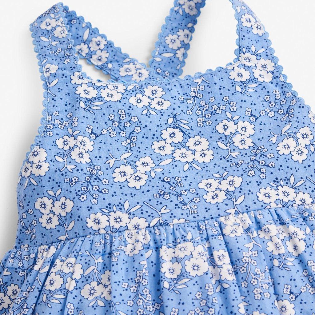 JoJo Maman Bebe JoJo Maman Bebe Meadow Summer Cross Back Dress