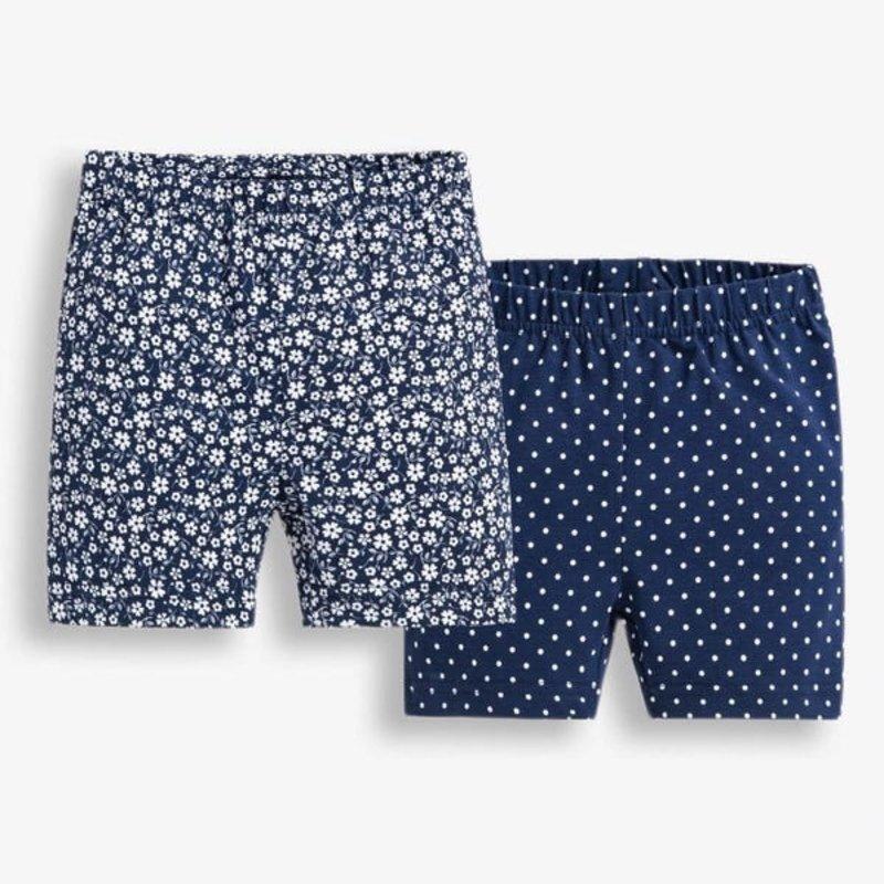 JoJo Maman Bebe JoJo Maman Baby 2PK Floral Shorts