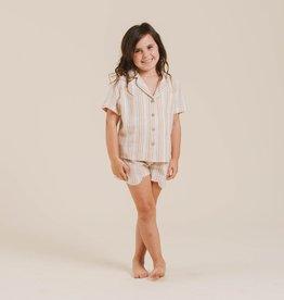 Rylee & Cru Rylee & Cru Girls Striped PJ Set