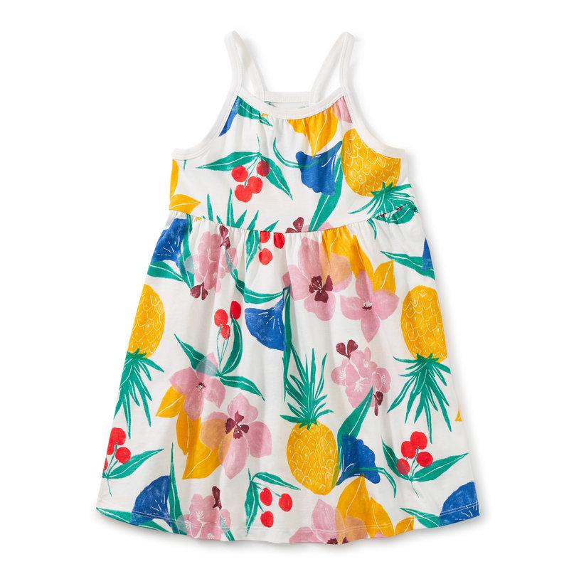 Tea Collection Tea Junior Spaghetti Strap Trapeze Dress