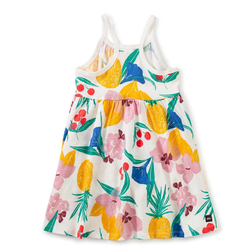 Tea Collection Tea Collection Junior Girls Spaghetti Strap Trapeze Dress