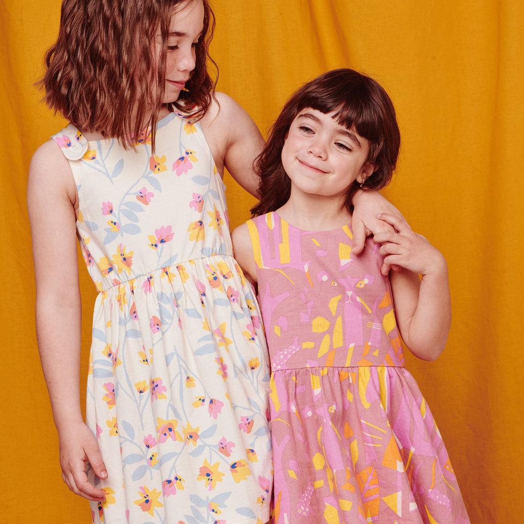 Tea Collection Tea Collection Junior Girls Inês Machado Bow Back Dress
