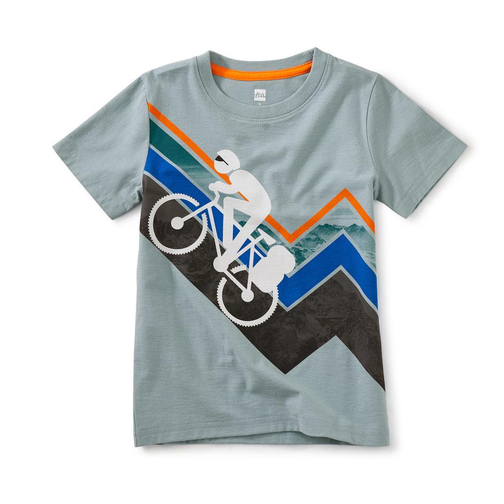 Tea Collection Tea Collection Boys Mountain Biker Graphic Tee