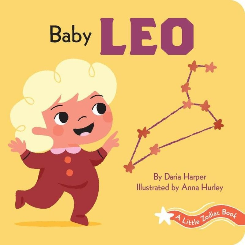 Chronicle Books - A Little Zodiac Book: Baby Leo