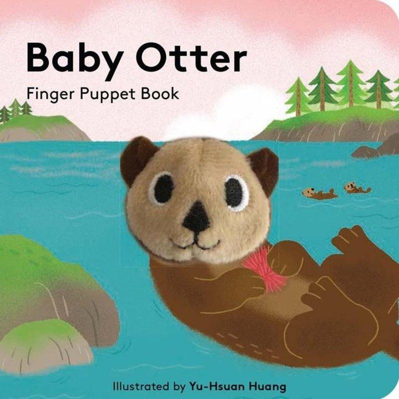 Chronicle Books - Baby Otter: Finger Puppet Book