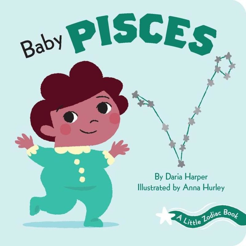 Chronicle Books - A Little Zodiac Book: Baby Pisces