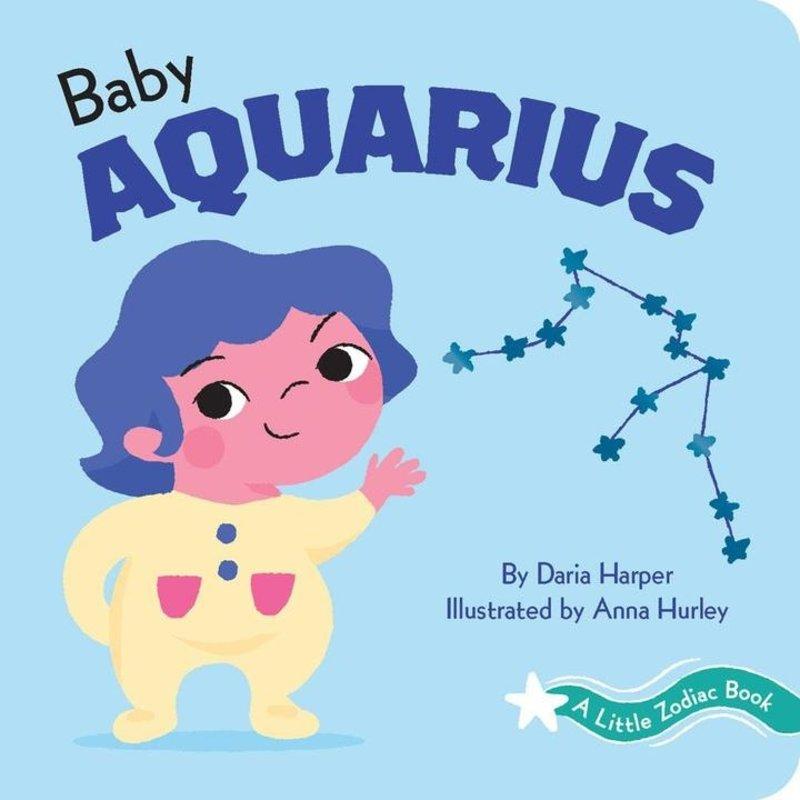 Chronicle Books - A Little Zodiac Book: Baby Aquarius
