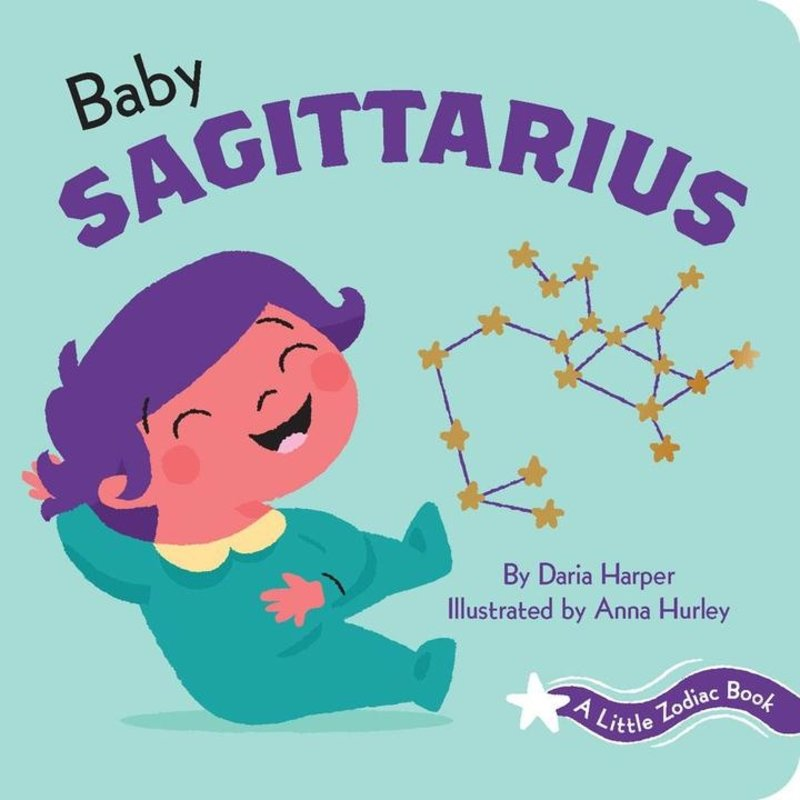 Chronicle Books - A Little Zodiac Book: Baby Sagittarius