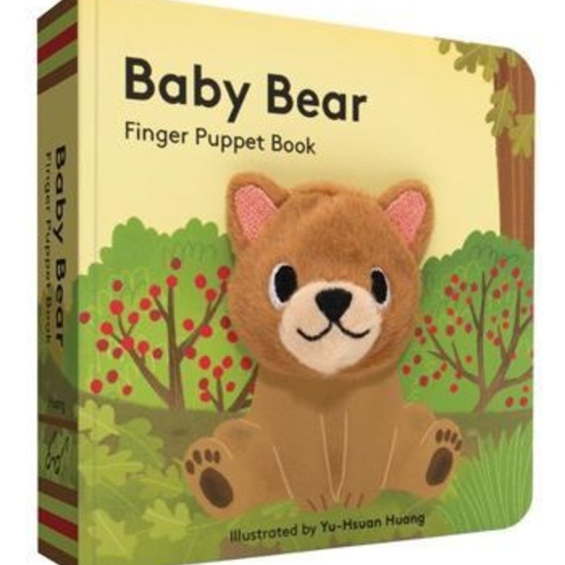 Chronicle Books - Baby Bear: Finger Puppet Book